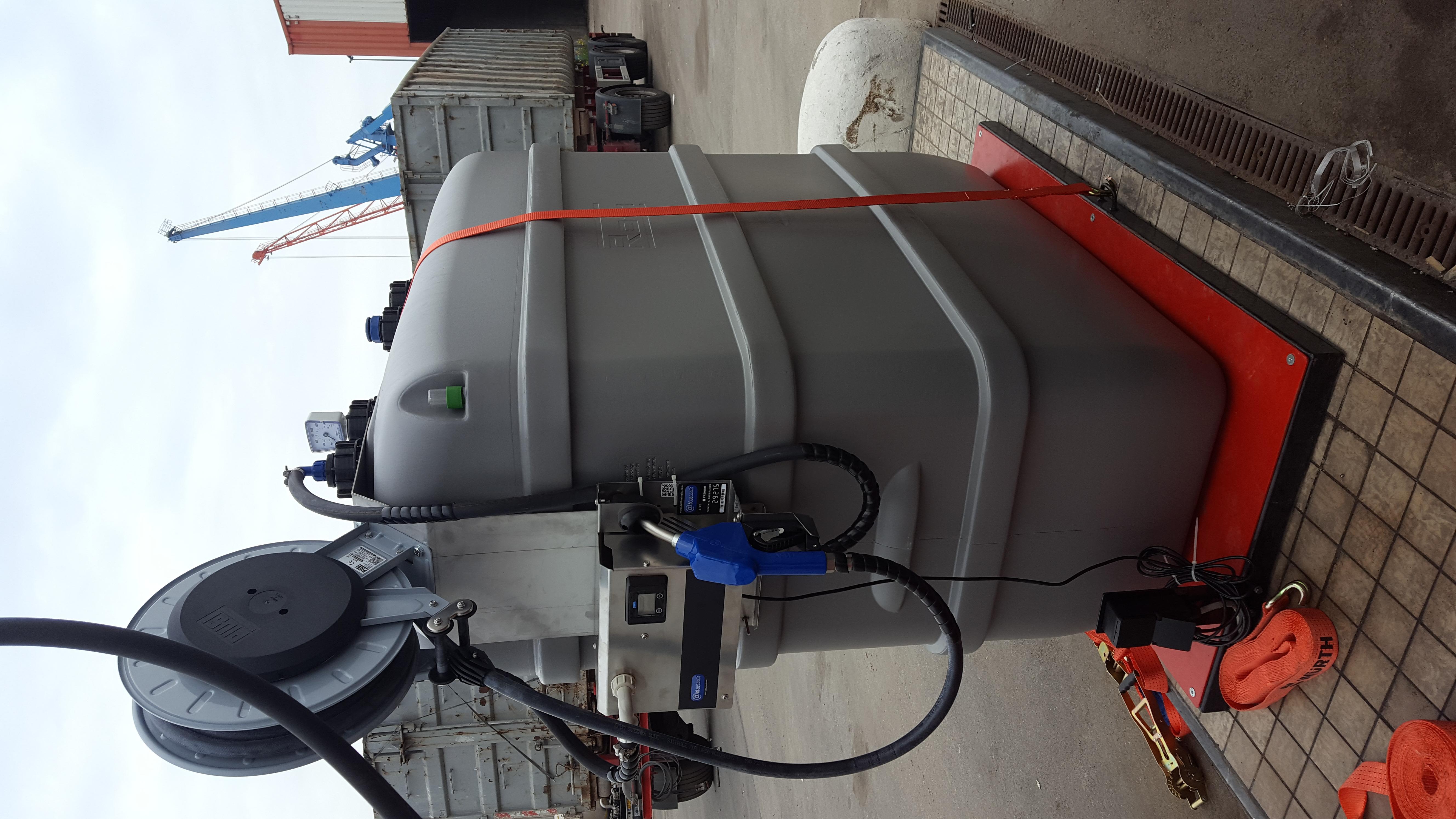 1500 liter AdBlue